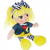 Мягкая кукла Oly, размер 26 см Вика-жёлтые волосы