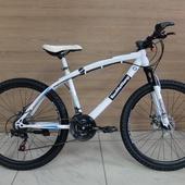 """Велосипед BaoMaWang (BMW) 26"""" Белый/Чёрный"""