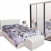 Спальня АМАЛИЯ белый снег