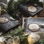 Авторский кошелек в подарочной коробочке