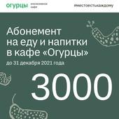 Абонемент на 3000 рублей
