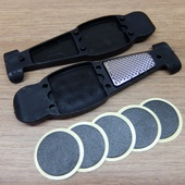 Монтажки для покрышек с ремнабором для камер чёрные