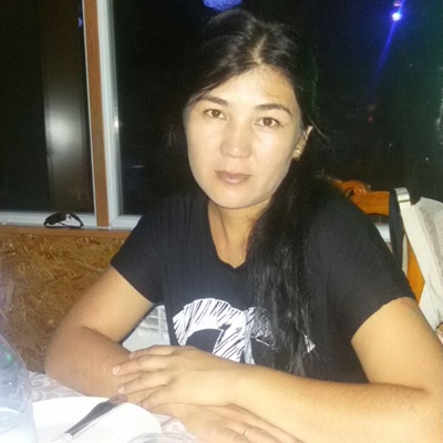 Жанар Есенова, Алматы