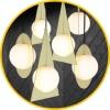 Дизайнерские  светильники   GENIUS-LIGHT