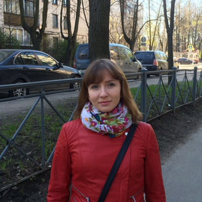 Алена Мельникова, Санкт-Петербург