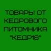 """Товары от кедрового питомника """"Кедр18"""""""