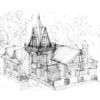 Красивый Деревянный Дом KRSDOM