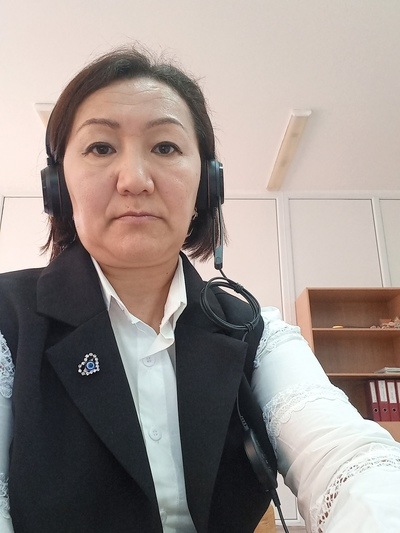 Гулназ Кадирбаева, Атырау