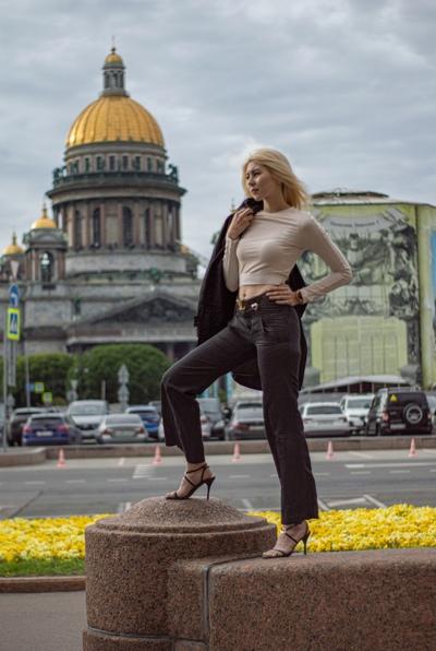 Алина Данилюк, Санкт-Петербург