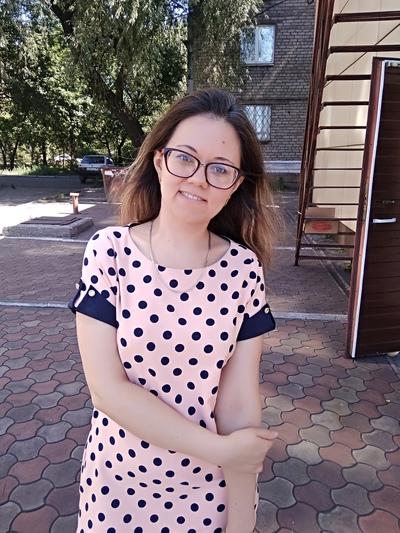 Оксана Яковцова, Енакиево