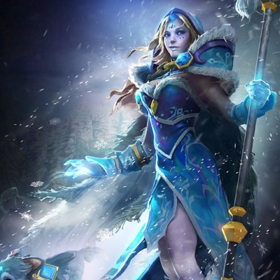 Crystal Maiden, Iceboro