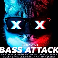 23.07.21   BASS ATTACK   LIVE STARS