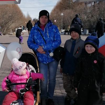 Валя Амосова, Оленегорск