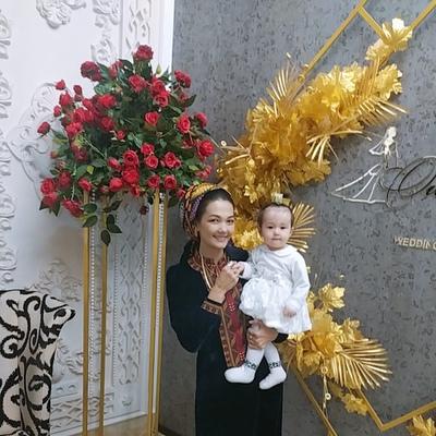 Güljan Hudaynazarowa, Ашхабад