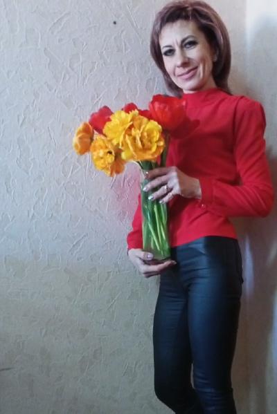 Ольга Родовиченко, Луганск