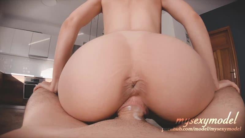 Teen Butt Plug Creampie